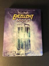 Bill &Teds Excellent Adventure [ 30th Anniversary STEELBOOK ] (Blu-ray Disc) NEW