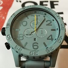 Nixon 51-30 Chrono Light Green Paint Men's Wrist Watch
