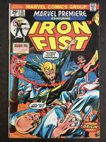 Marvel Premiere #15 1st Iron Fist Danny Rand 1974 Shang Chi MCU MOVIE KEY HOT🔥