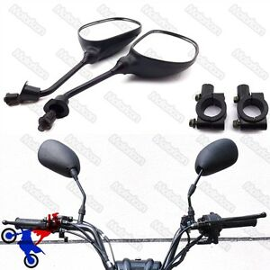 Motorcycle Rearview Mirror Bracket Holder Clamp For Pit Dirt Bike ATV Quad