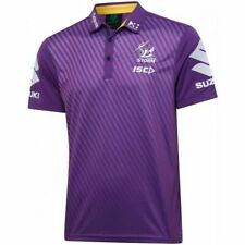 Melbourne Storm NRL 2020 Players ISC Purple Polo Shirt Size M