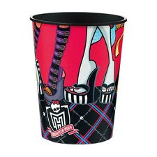 16oz Monster High Childrens Birthday Party Plastic Loot Treat Favor cup
