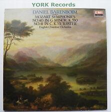 EMX 4120741 - MOZART - Symphonies No 40 & 41 BARENBOIM ECO - Ex Con LP Record