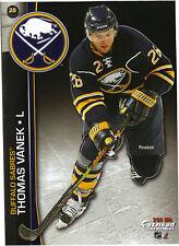 THOMAS VANEK BUFFALO SABRES FATHEAD TRADEABLES 2011 REMOVABLE STICKER NHL 28