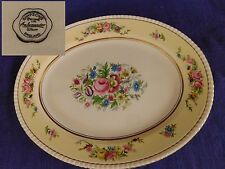 """Fondeville Hampton Court Simpsons 14"""" OVAL PLATTER have more items to set"""