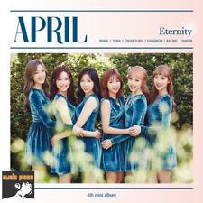 APRIL 4TH MINI ALBUM [ ETERNITY ] CD+BOOKLET+PHOTO CARD