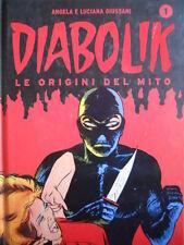 DIABOLIK - Le Origini del Mito vol.1 ed. cartonata Gazzetta  [G264]