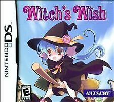 Witch's Wish. Nintendo DS/DSi/3DS. Rare. RPG. Free Shipping.  Fast Shipping