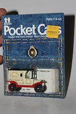 TOMY TOMICA POCKET CARS #134-F13 1915 FORD MODEL T DELIVERY, HAPPY HOME BREAD #8