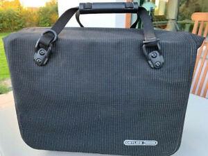 Office-Bag High Visibility - Fahrradtasche schwarz mit etwas weiß