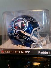 Nfl Tennessee Titans Signed Mini Helmet Marcus Mariota