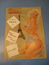 Moderne Journal,Paris um 1952,Show,Erotik,Bühne,Stars-Variete- Film-Pin Up-Akt