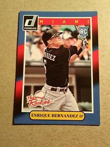 "ENRIQUE ""KIKI"" HERNANDEZ - Boston Red Sox - 2014 Donruss THE ROOKIES #92"