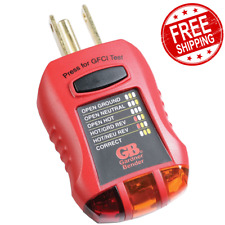 Electric Socket GFCI Outlet Receptacle Tester Circuit Analyzer Breaker Finder