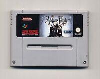Super Nintendo SNES - THE ADDAMS FAMILY - PAL Super Nes La famiglia Addams ITA