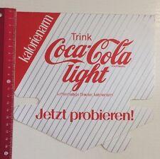 Aufkleber/Sticker A4: Coca Cola Light (14031640)