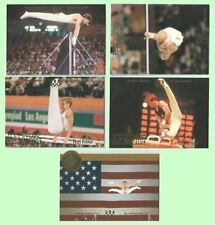Upper Deck 1996 Gymnastics Olympicards Conner Gaylord Thomas Vidmar + Bonus Card