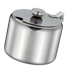200ml Spice Jars Stainless Steel Sugar Bowl Cruet Flavor Airtight Kitchen