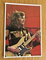 WISHBONE ASH PICTURE POP '73 VINTAGE PANINI COLLECTORS CARD FROM 1973