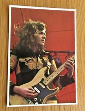 More details for wishbone ash picture pop '73 vintage panini collectors card from 1973