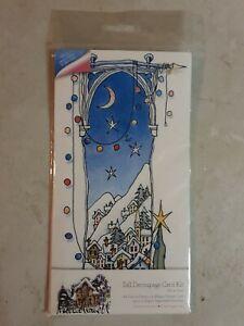 Tall Decoupage Card Kit, Christmas