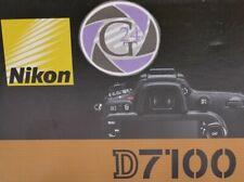 Nikon D7100 Gehäuse - 12 Monate Gewährleistung