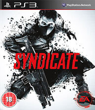 Syndicate ~ PS3 (in Great Condition)