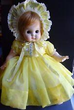 "Vintage Blonde Madame Alexander Puddin  Doll 1965 21""  Good Condition"