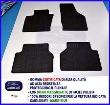 Tappetini per Audi Q3 dal 2011 in poi in Gomma su misura Tappeti interni auto