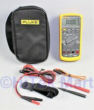Fluke 87ve2 Multimeter With Soft Case And Test Leads