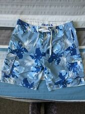 Men swimming shorts large floral print