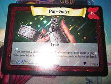 HARRY POTTER TCG GAME QUIDDITCH CUP PUT-OUTER 22/80 SUPER RARE FOIL MINT NEUVE