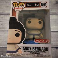 Funko Pop! The Office #1061 Andy Bernard Sumo Suit Target Exclusive + Protector