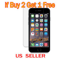 "Buy 2 Get 1 Free Clear LCD Screen Protector Guard Film For Apple iPhone 6 (4.7"")"