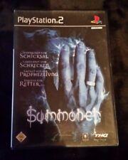 Summoner (Sony PlayStation 2, 2001, DVD-box)