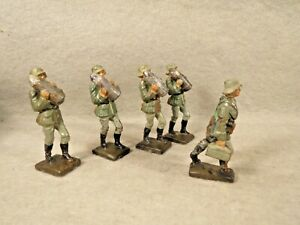 5 Lineol Ammo loaders and Carrying Ammo Box soldiers