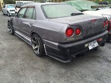"Nissan Skyline R34 (4 doors) Rear Fenders +20mm (Uras style)""Neksa autotuning"""