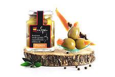 3 Und.Aceitunas rellenas de Papaya Caramelizada ideal para aperitivos,GOURMET
