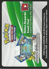 POKEMON CODE CARD FROM THE MYTHICAL COLLECTION BOX - VOLCANION