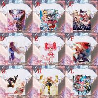 Anime Puella Magi Madoka Magica Short Sleeve Cool Casual Unisex T-shirt Tee #20