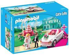 Playmobil 6871 Novios en Fiesta de Boda con Coche (Starter Set). NUEVO EN CAJA.