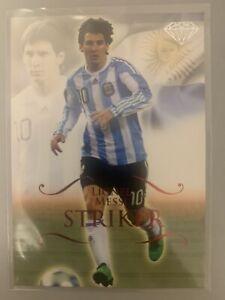 Lionel Messi Futera Unique 2011 Ruby Card P146 Argentina Barcelona /450