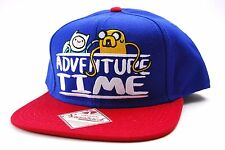 BIO WORLD ADVENTURE TIME FINN & JAKE SNAPBACK CAP/HAT - OSFM