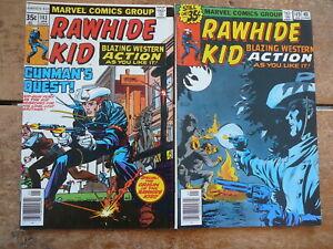 RAWHIDE KID No. 143 ORIGIN & 149 - JAN 1978 & JAN 1979 - MARVEL COMICS VF