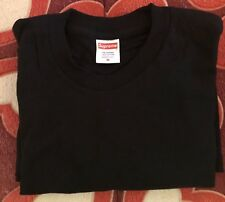 Supreme Blank Tee Black Size Medium