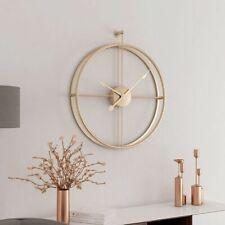 Large Silent Wall Hanging Clock Modern Home Decor Office Quartz Quiet Sweep