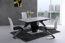 Glass Up to 8 Modern Table & Chair Sets