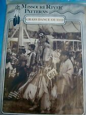 Grass Dance Pattern Native American IndianMissouri River Outfit Costume Sewing