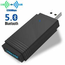 USB3.0 WiFi Adapter AC1300Mbps for PCWireless Network Adapter Dual Band5G/2.4GHz