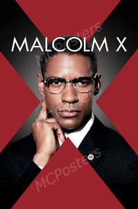 Posters USA - Malcom X Denzel Washington Movie Poster Glossy Finish - MCP412